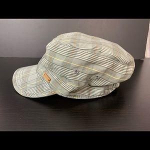 Roots Canada Plaid Hat/Cap Sz Small